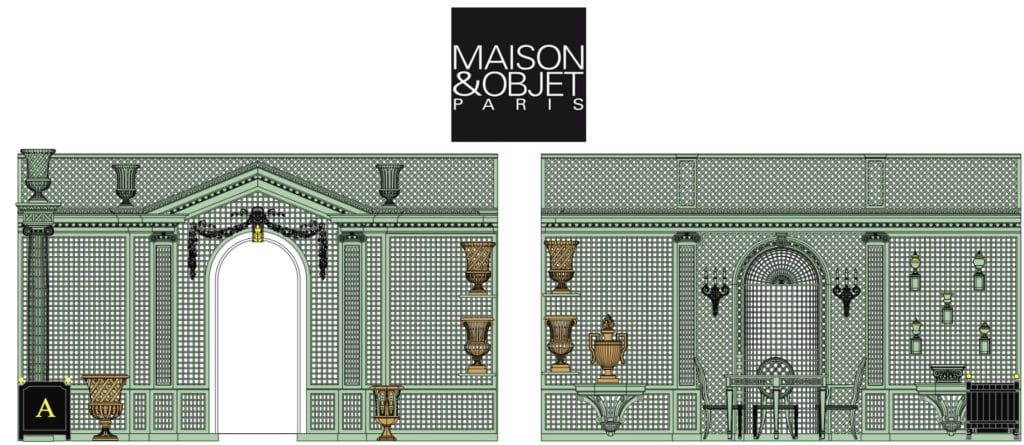 Accents of France Booth Maison Object 2018
